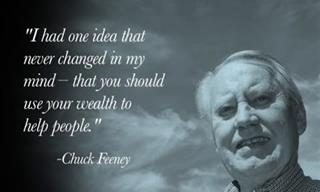 Chuck Feeney is a Philanthropist That Leads By Example