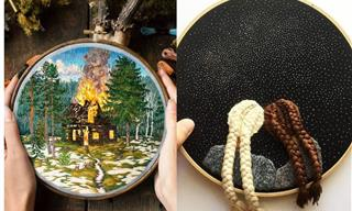 The Unbelievable Embroidery Skills of 10 Talented Artists