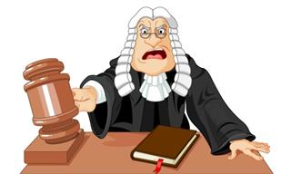 Now That's One Fussy Judge...