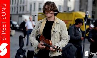 Enjoy Incredible Street Performance of Pachelbel's Canon