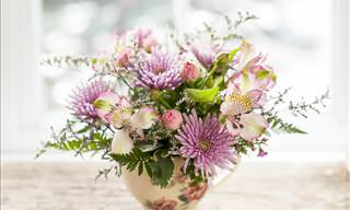 An Awesome Flower Arrangement Tip