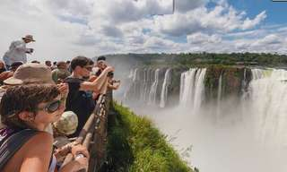Take a Virtual Tour Through Iguazu Falls!