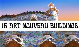 15 of the Most Beautiful Buildings in Art Nouveau Style
