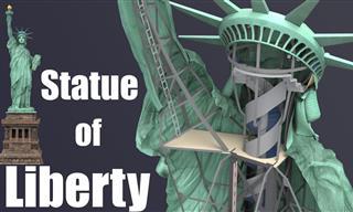 What Lies Inside the Statue of Liberty? A Rare Sneak Peek