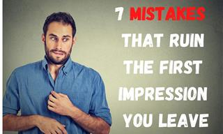 Small Mistakes That Ruin the First Impression You Give