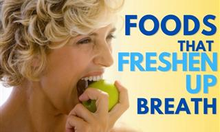 Freshen Up Your Breath Naturally With These Yummy Foods