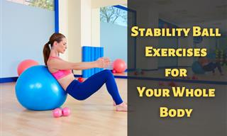 8 Useful Stability Ball Exercises for a Full-Body Workout