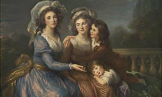 Portraits by Élisabeth Louise Vigée-Le Brun