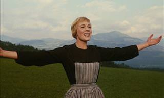 Stunning Photos of Julie Andrews' Prolific & Celebrated Career