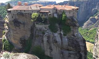 Explore the Beauty of Meteora In Stunning 4k