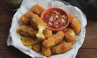 How to Make Tasty Mozzarella Sticks At Home