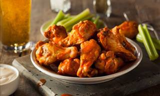 Delicious Buffalo Chicken Wings