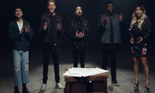 "Pentatonix Cover of ""Imagine"""