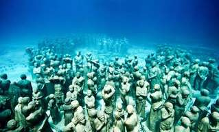 Incredible Underwater Sculptures by J.D Taylor!
