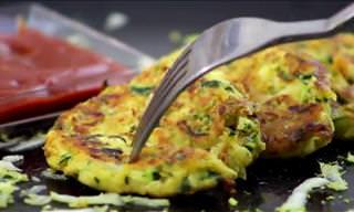 Recipe: Zucchini Fritters