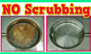 You Can Clean a Burnt Pot Without Hard Scrubbing!