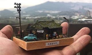 Admire the Detail and Beauty of Hank Cheng's Dioramas