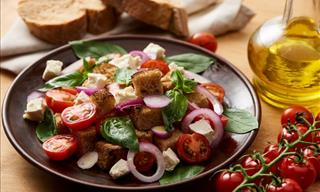 Recipe: Yummy Mid-Summer Italian Bread Salad