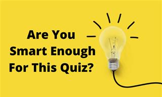 Only MENSA Members Can Pass This Quiz...