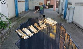 A Russian Aritst's Remarkable 3D Paintings