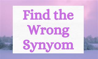 QUIZ: Find the Wrong Synonym!
