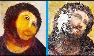 The Worst Art Restoration Attempts