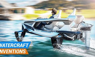 Cool Watercraft Inventions You Didn't Even Know Existed