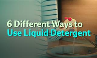 6 Alternative Ways to Use Liquid Detergent