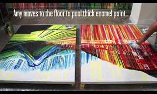 Painting With Gravity - Beautiful!