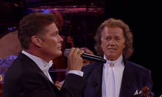 David Hasselhoff Sings Love Me Tender