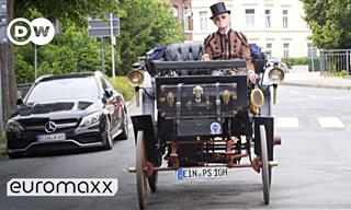 Watch the 1894 Benz Victoria Sizzle the Streets In Style