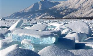 Lake Baikal in Russia Is Even More Beautiful Frozen Over