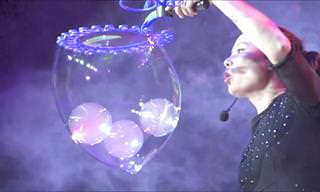 This Fantastic Bubble Show Will Blow You Away