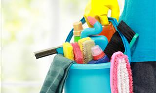 How Many of These Chores Do You Do Wrong, Every Day?