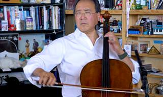 Yo-Yo Ma Performing 3 Great Bach Pieces