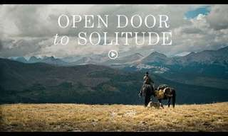 An Open Door to Solitude - Beautiful!