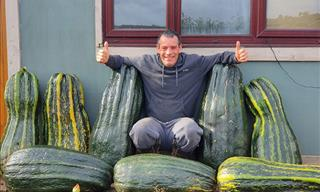 These Are Some Serious Gardening Skills! 22 Giant Fruit and Veggies
