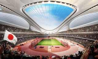 A First Look at the 2020 Olympic Stadium