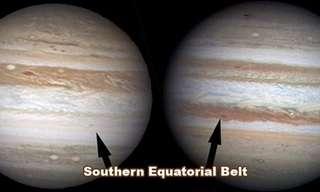 Jupiter Loses One of its Belts