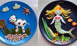 15 Cute Food Arrangement Ideas to Surprise the Little Ones