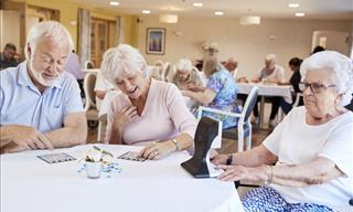 Study Finds Social Relationships Better Brain Aging