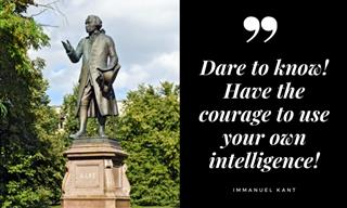 12 Beautiful Words of Wisdom from Immanuel Kant