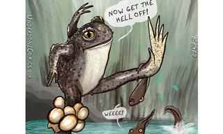 These Comics Show Us the Amusing Side of Animal Fathers