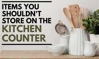 9 Things We Should All Stop Storing on the Kitchen Counter