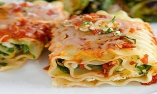 These Spinach Lasagna Roll Ups Are a Pasta-Lover's Dream