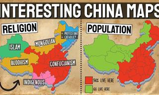 Fascinating Maps of China You Really Need to See