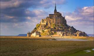 Looking at the Incredible Mont Saint Michel