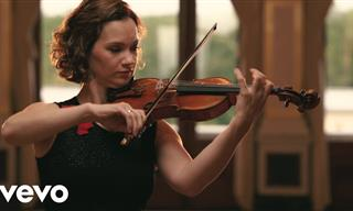 Moving Performance: Violinist Hilary Hahn Playing Bach