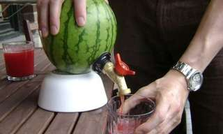 DIY: Make a Watermelon Tap for Parties!