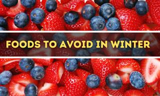 Avoid Eating These Foods in the Winter to Remain Healthy